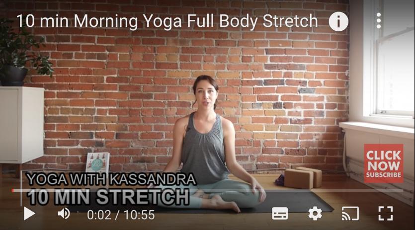 Yoga With Kassandra videos